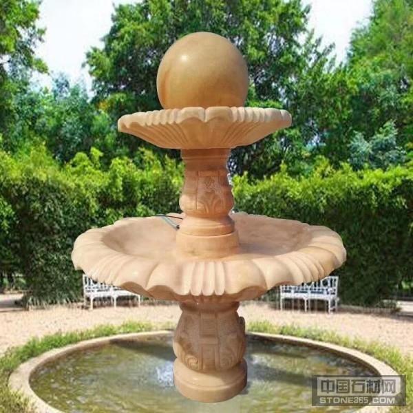石材喷泉厂家专业雕塑