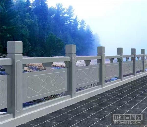 人行道石材护栏栏杆