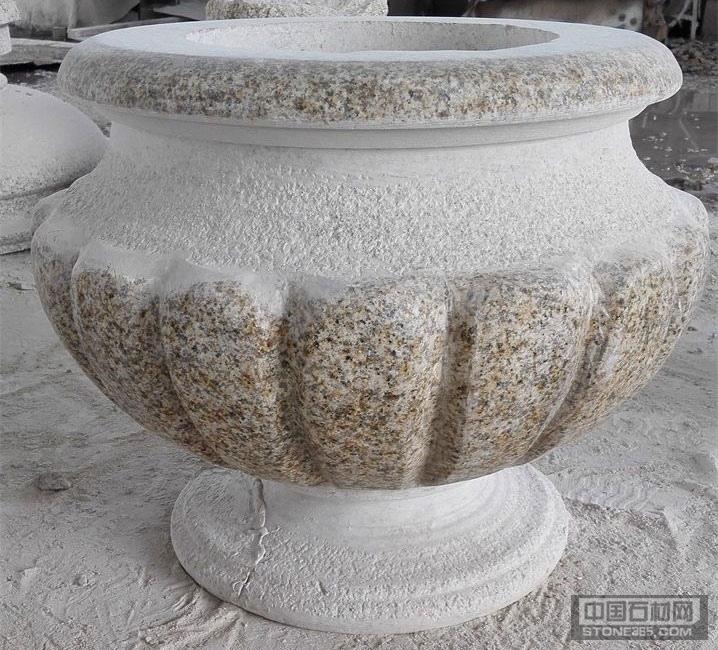 山东锈石花钵异型石