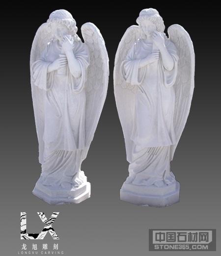 供应汉白玉西式人物雕像