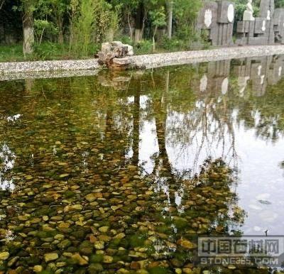 公园河道水池铺底
