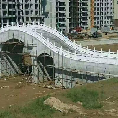 芝麻白拱桥栏杆