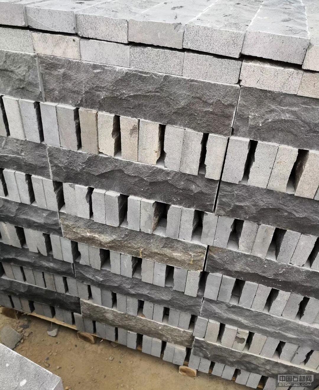 蒙古黑小方块板岩