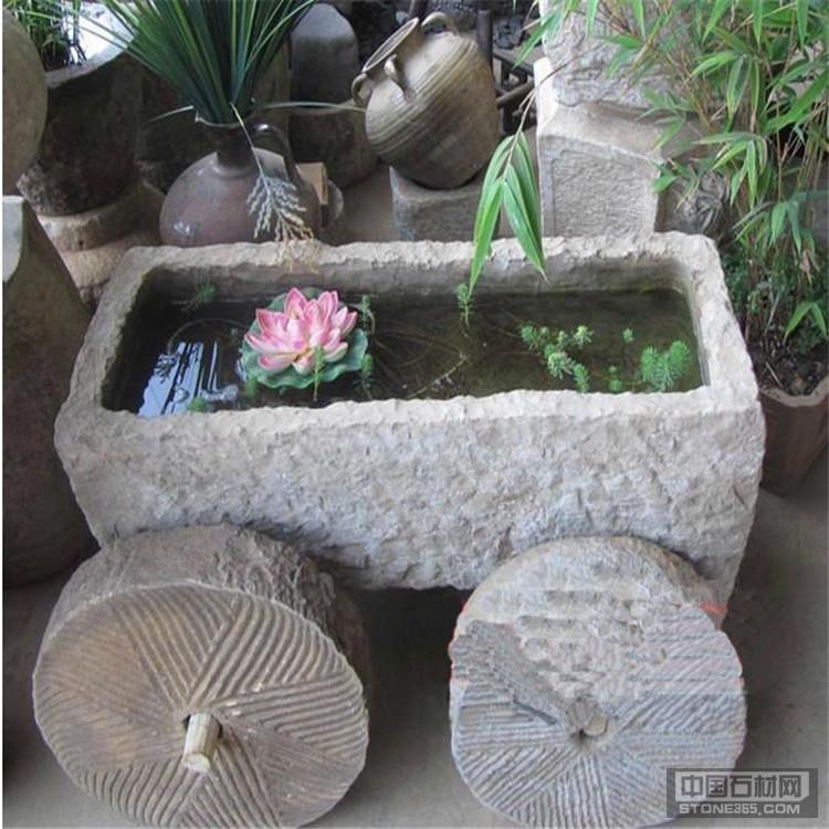 石雕流水摆件