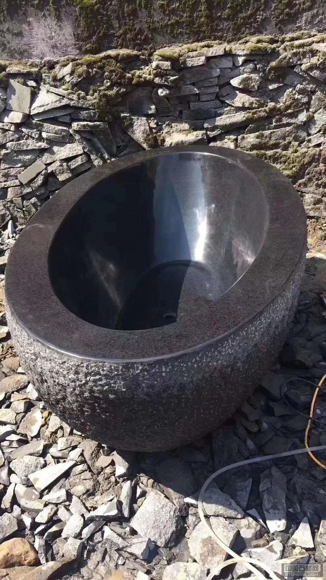 供福鼎黑浴缸工艺品