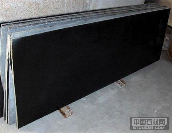 蒙古黑大理石磨光板