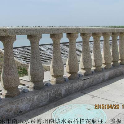 新疆博乐市南城水糸博州南城水糸桥栏花瓶柱、盖板博乐