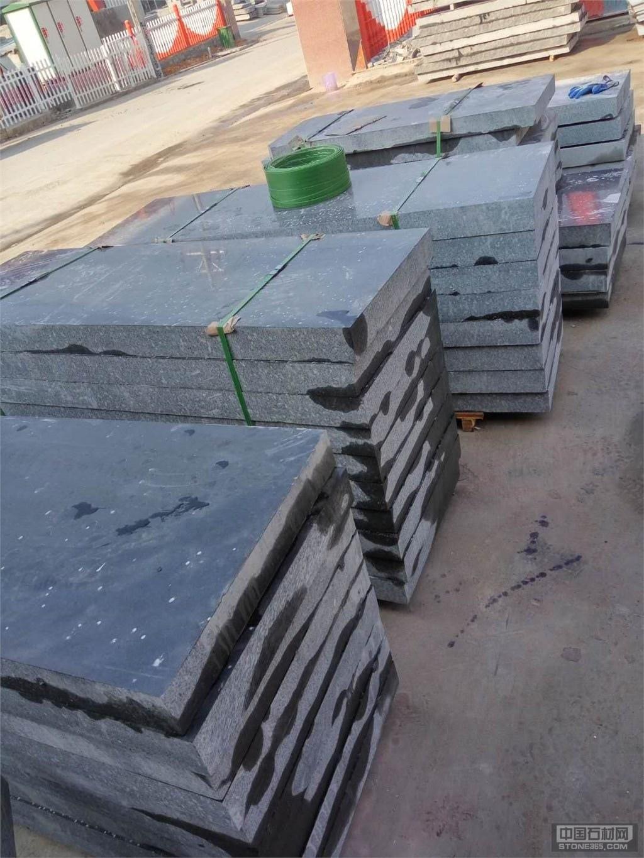 中国蓝黑色大理石墓碑