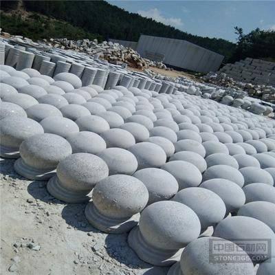 白色石球 芝麻白石球 芝麻白