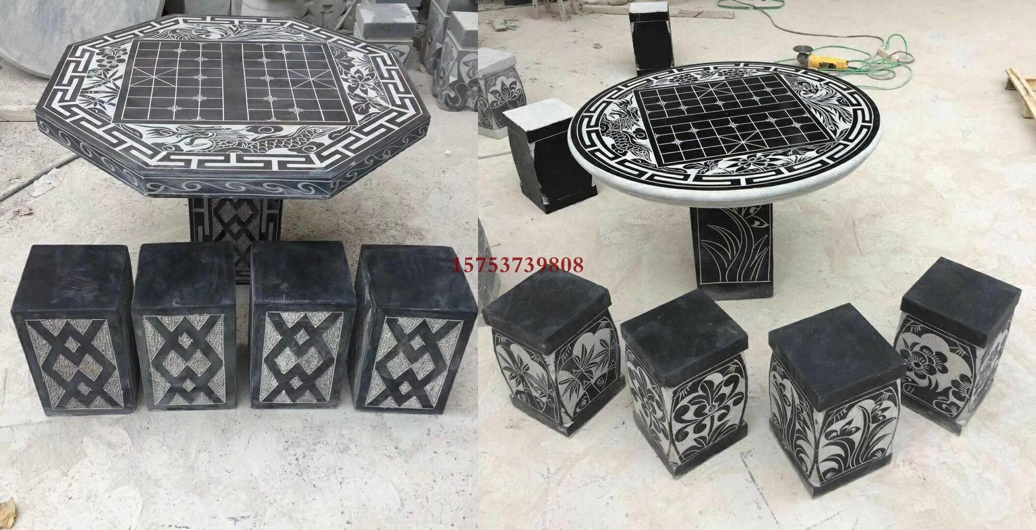 象棋青石雕刻