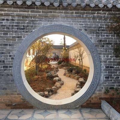 园林墙设计