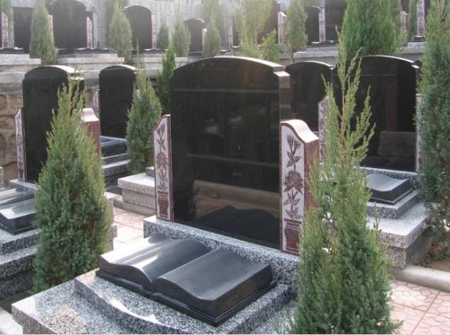 中国蓝欧式墓碑沂蒙黑欧式墓碑