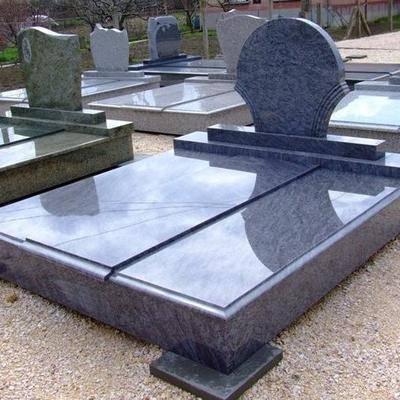 中国蓝欧式墓碑
