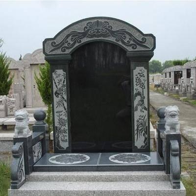 沂蒙黑墓碑成品中国蓝墓碑成品