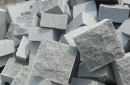 芝麻黑马蹄石小方块