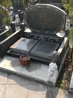 芝麻黑墓碑成品