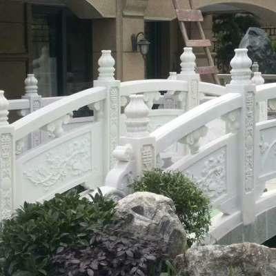 汉白玉栏杆栏板石桥