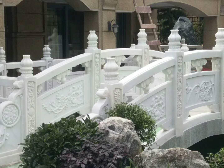 汉白玉石雕栏杆栏板