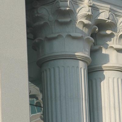 芝麻白圆柱案例