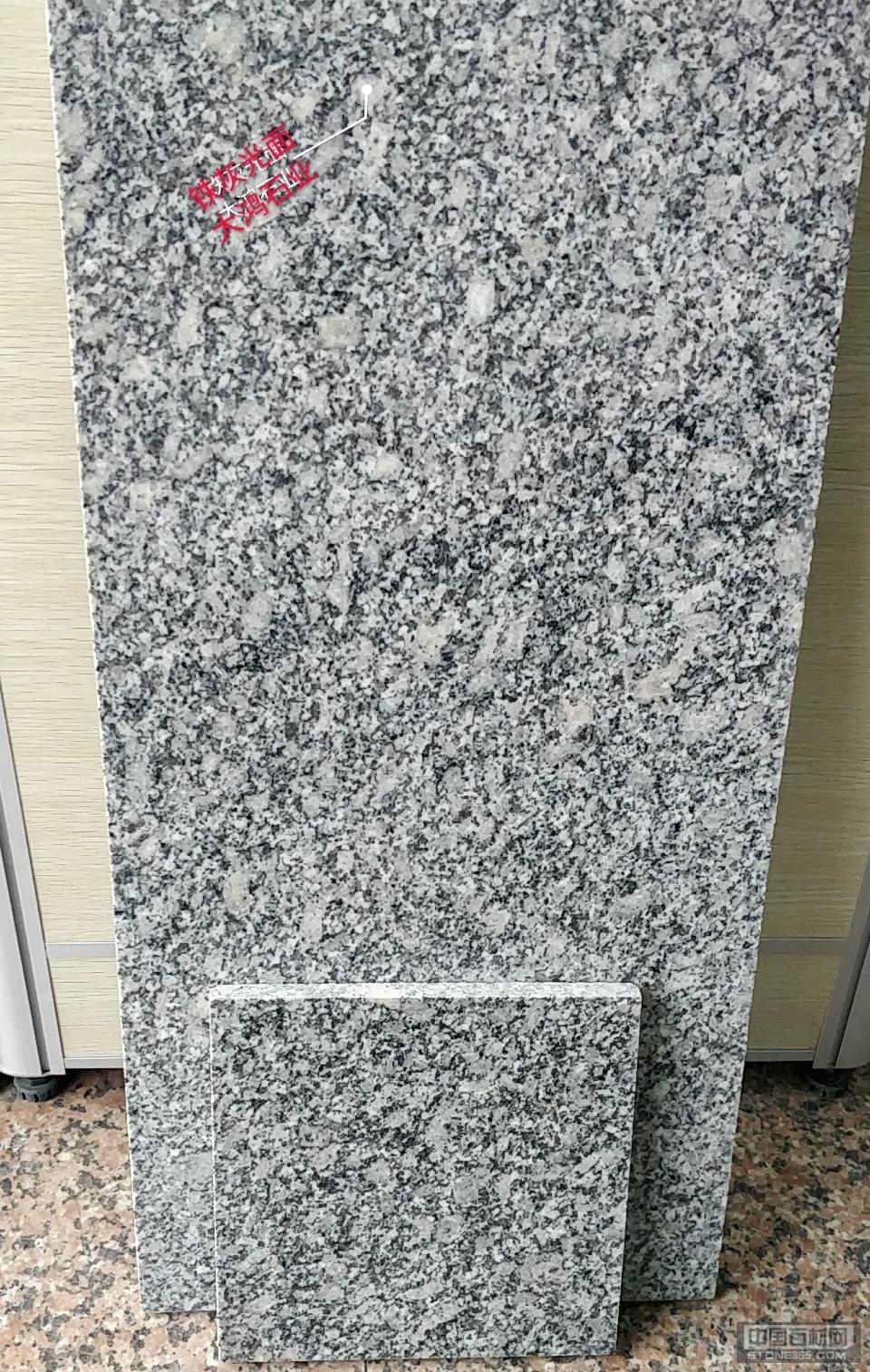 供应浅灰麻花岗岩光面工程规格板