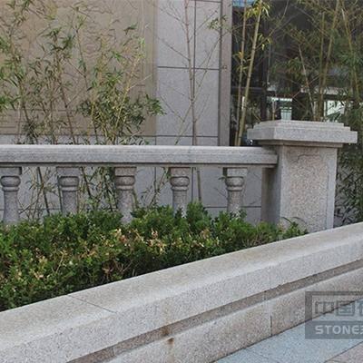 五莲红异型栏杆工程案例