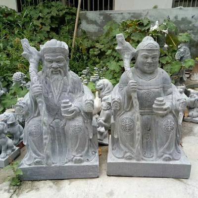 芝麻灰人物石雕
