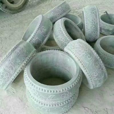 石材异型柱头雕刻