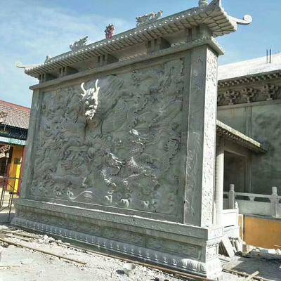 芝麻灰浮雕墙