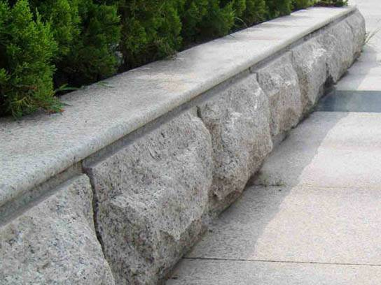芝麻白蘑菇面路沿石