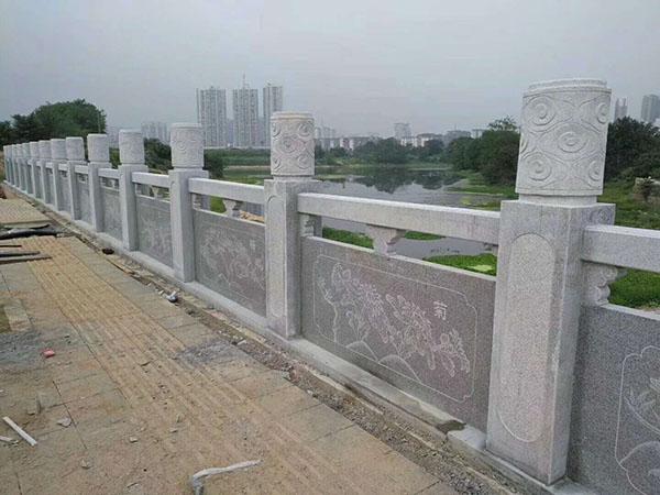 江西花岗岩河道栏杆