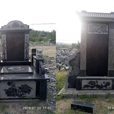 沂蒙黑公墓墓碑生产商