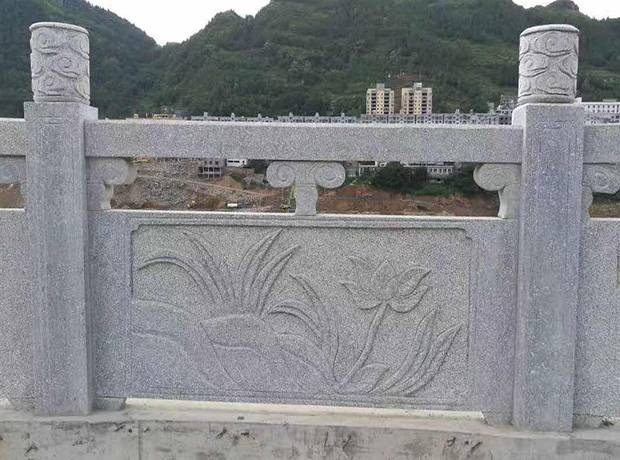 河南芝麻白桥栏杆板