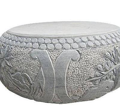 芝麻白异形石凳