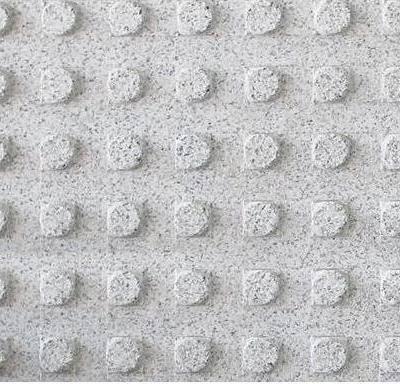 芝麻白异形盲道石