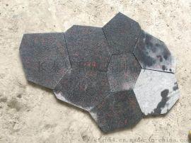 福建芝麻黑冰裂纹G654碎拼