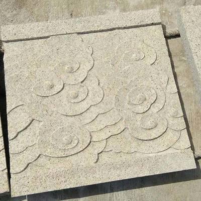 山东黄锈石浮雕雕刻