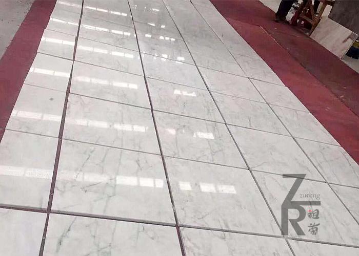 贺州汉白玉纹理排板