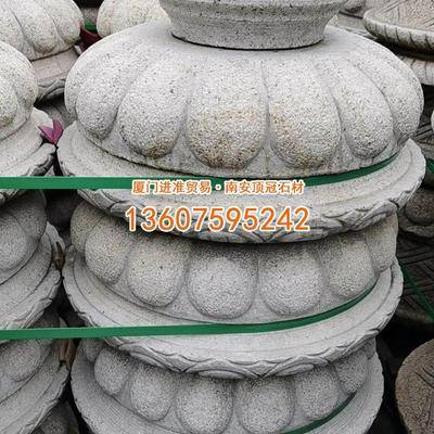 黄锈石花钵异形石定制批发