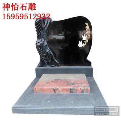 石雕美式墓碑美國墓碑