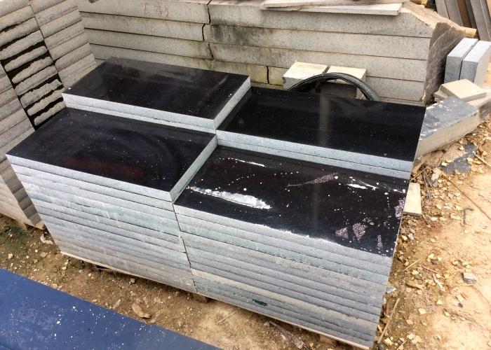 博白黑石光面规格板材生产厂家