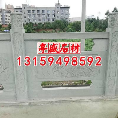 青石桥栏雕刻加工