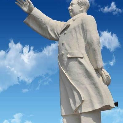 供应汉白玉石雕伟人雕像
