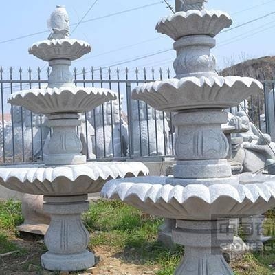 五莲红喷泉