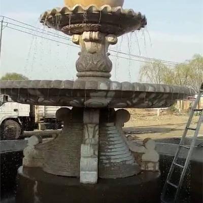 供应大理石喷泉花盆价格 正定县