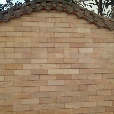 云南砂岩文化石外墙干挂