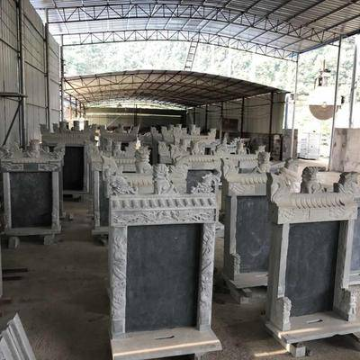 广西青石墓碑全套成品