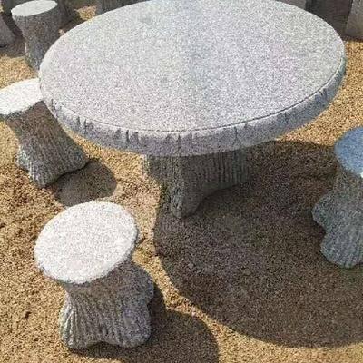 石桌子 石凳子