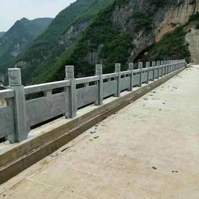 万源青石桥栏杆
