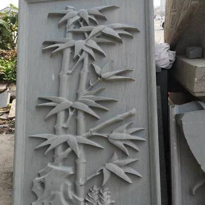 万源青石石雕 雕花