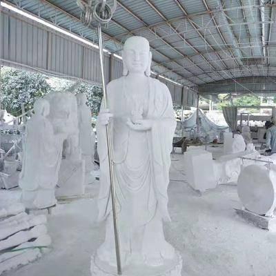 汉白玉观音供奉菩萨佛像雕像